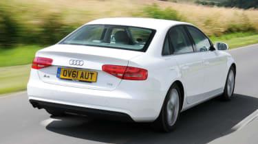 Audi A4 TDIe rear tracking