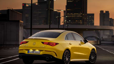 Mercedes-AMG CLA 35 - rear night