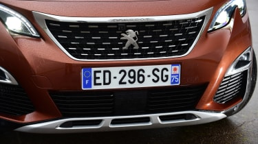 Peugeot 3008 brown - front detail