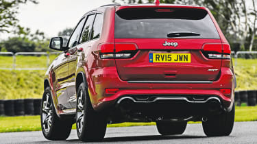 Jeep Grand Cherokee SRT - rear cornering