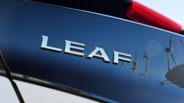 Nissan Leaf - rear badge
