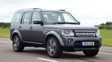 Land Rover Discovery - front tracking
