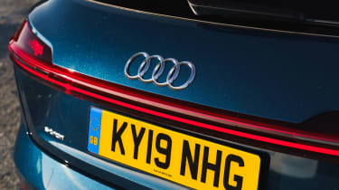 Audi e-tron - rear detail