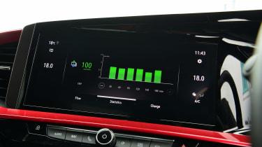 Vauxhall Mokka-e - first report infotainment