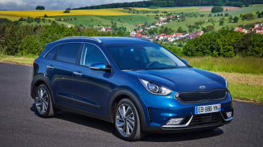 Kia Niro - front/side static