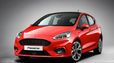 New 2017 Ford Fiesta ST-Line teaser pic