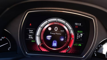 Lexus LS 500h 2018 review - dials