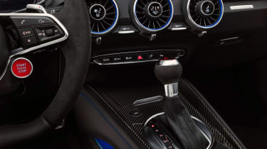 Audi TT RS Coupe - centre console