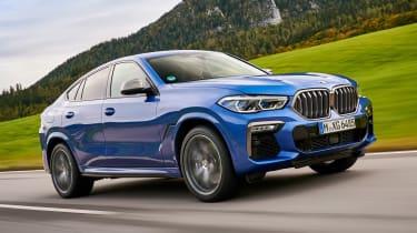 BMW X6 - front