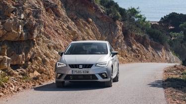 SEAT Ibiza diesel - front tracking