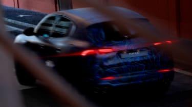 Maserati Grecale teaser - rear