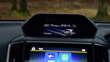 Subaru Forester 2020 in-depth review - infotainment screens