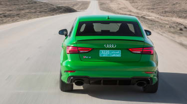 Audi RS3 Saloon 2017 - rear tracking 2