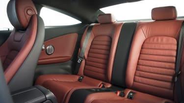 Mercedes C-Class Coupe C250d AMG Line - rear seats