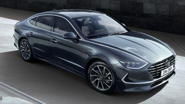 Hyundai Sonata - front