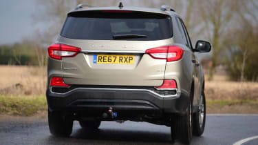 SsangYong Rexton long term - first report rear