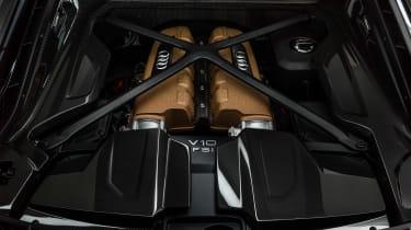 Audi R8 V10 Decennium - engine bay