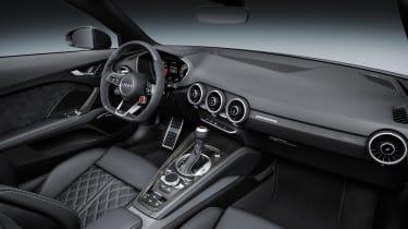 Audi TTRS 2016 - convertible interior