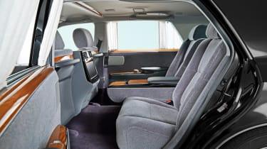 2018 Toyota Century - interior rear