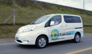 Nissan e-Bio Fuel Cell prototype vehicle