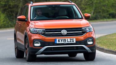Volkswagen T-Cross - front cornering
