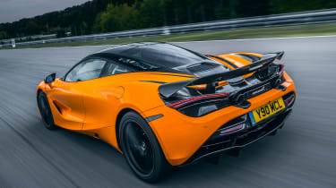 McLaren 720S Track Pack - rear