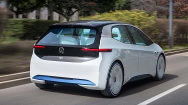 Volkswagen I.D. - rear tracking