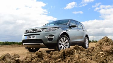Discovery Sport header