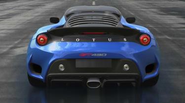 Lotus Evora GT430 Sport - back