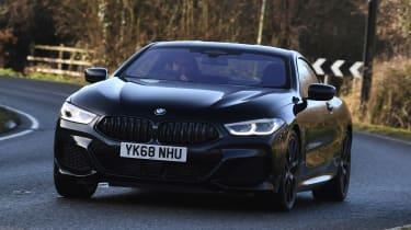 BMW 8 Series - front cornering