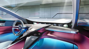 Borgward Isabella concept - dash