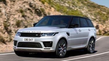Range Rover Sport HST - front/side