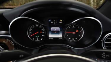 Mercedes GLC Coupe - dials