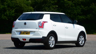 SsangYong Tivoli - rear static