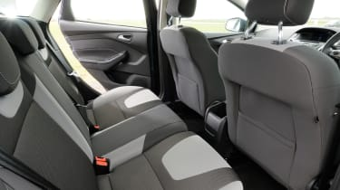 Ford Focus ECOnetic rear seats