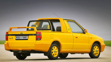 Weird car special editions - Skoda Felicia Fun