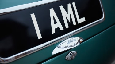 Aston Martin DB4 GT - number plate