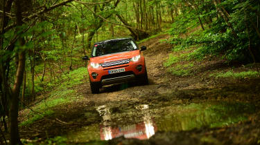 Land Rover Discovery Sport long-term - mud panning