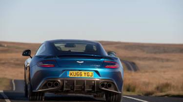 Aston Martin Vanquish S - rear tracking 2