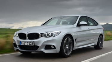 BMW 335i GT front tracking