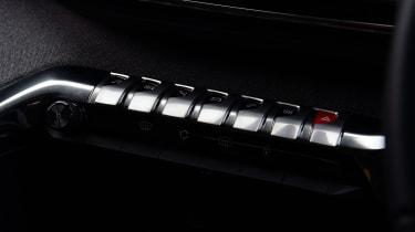 Peugeot 3008 - buttons