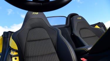 Porsche Boxster T - seats