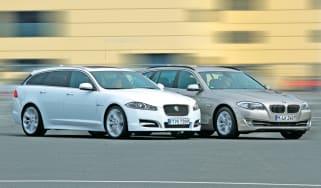 Jaguar XF Sportbrake vs BMW 5 Series Touring
