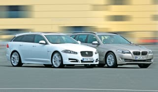 Jaguar XF Sportbrake vs BMW 5 Series Touring