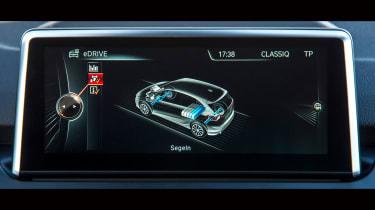 BMW 2 Series Active Tourer eDrive - screen