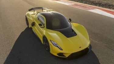 Hennessey Venom F5 front right