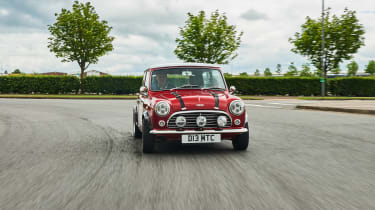 David Brown Mini Remastered - full front action
