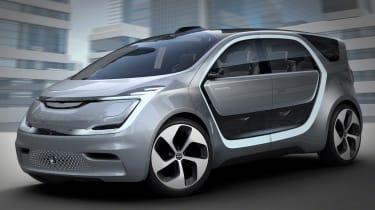 Chrysler Portal CES concept front side