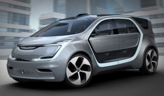 Chrysler Portal CES concept front side