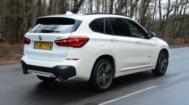 BMW X1 - rear action